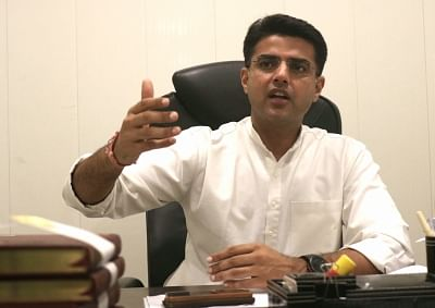 Sachin Pilot. (Photo: Bidesh Manna/IANS)