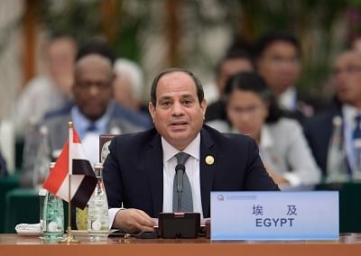 Egyptian President Abdel-Fattah al-Sisi. (Xinhua/Li Xueren/IANS)