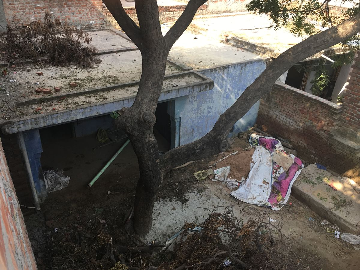Previous residence of Mustakeem's family in Shivpuri, Charra.