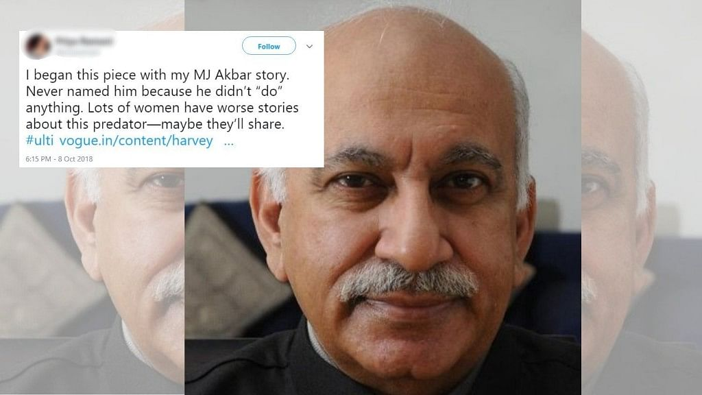 MEA Silent on Sexual Harassment Claim Against MoS MJ Akbar