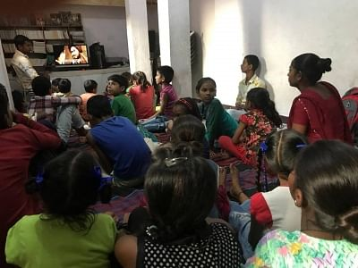 A library run by industrial workers means world of change for children