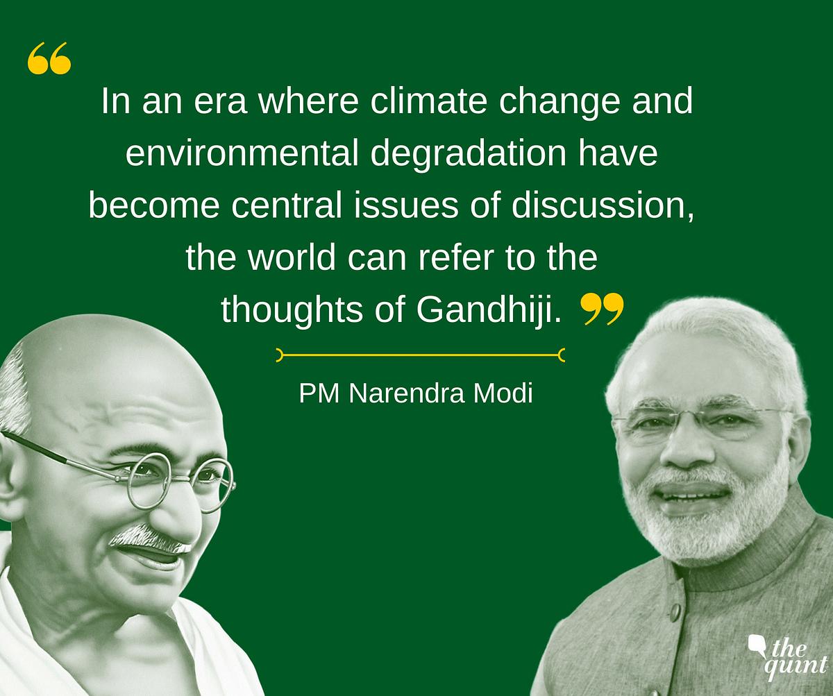 Bapu Had the Power to Unite Humanity: PM Modi on Mahatma Gandhi