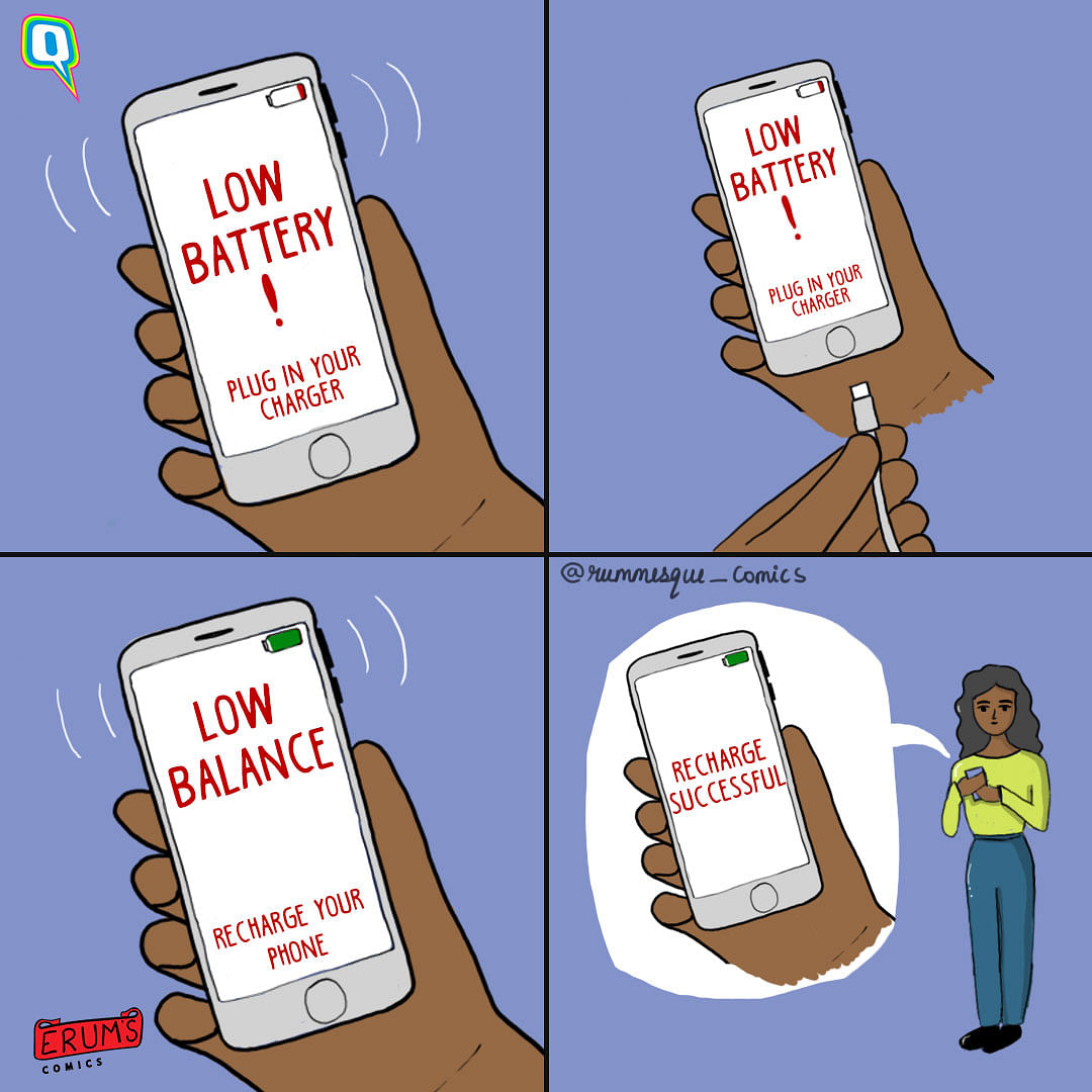 Erum's Comics: When Your Phone Starts Dropping Truth Bombs