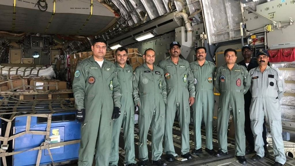 37 medical personnel have been sent aboard an IAF C-130J, while a C-17 aircraft will be transporting relief material.