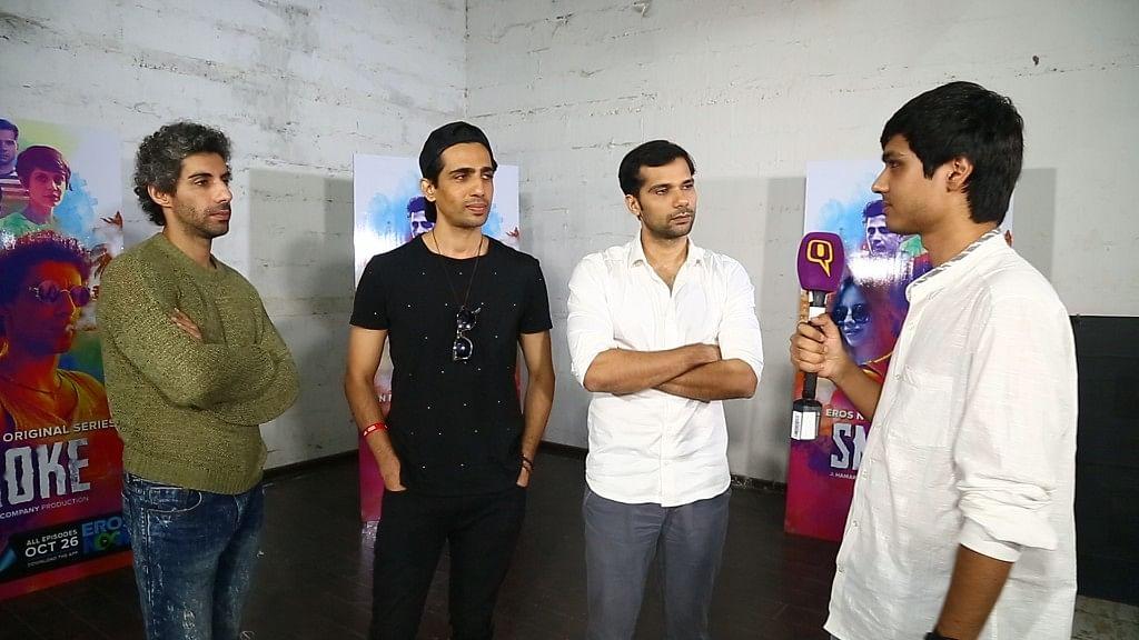 Jim Sarbh, Neil Bhoopalam, Gulshan Devaiah on 'Smoke', #MeToo