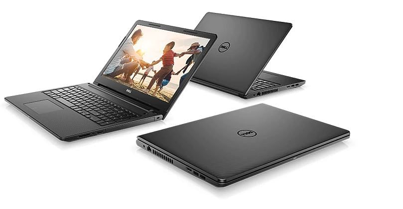 The Dell Inspiron 15 comes with a 15.6-inch display.