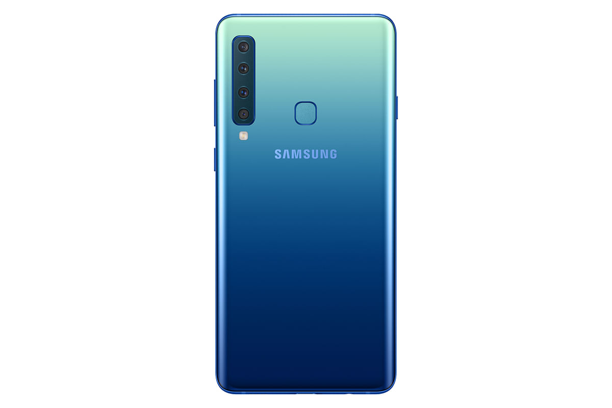 The Samsung Galaxy A9 comes with a 3,800mAh battery.