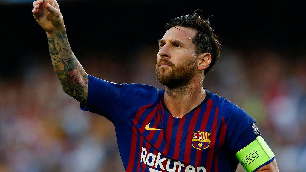 File photo of Lionel Messi.