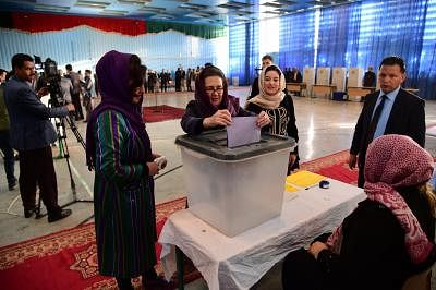 India congratulates Afghan people for voting