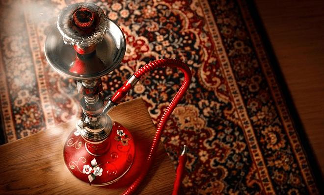 Representational image of a hookah.