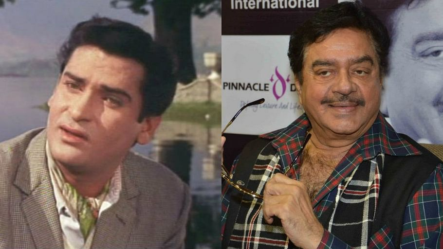 Actors Shammi Kapoor and Shatrughan Sinha.