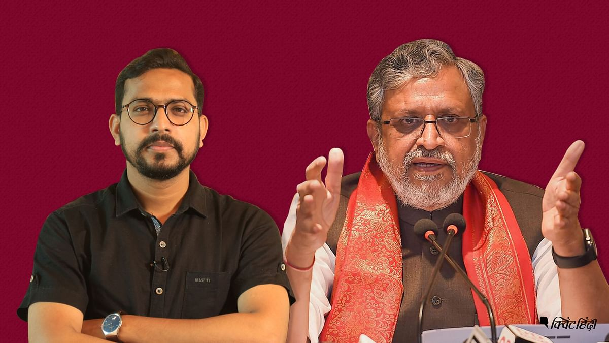 Sushil Modi, why are you silent on crime in Bihar?