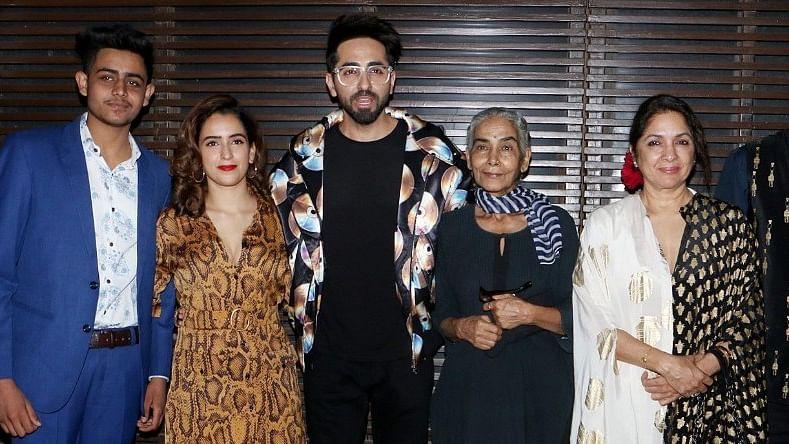 Ayushmann Khurrana and Family Celebrate the Success of 'Badhai Ho'