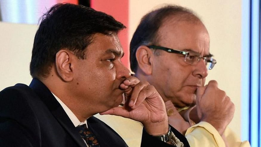 Left to Right: RBI Governor Urjit Patel and Finance Minister Arun Jaitley.