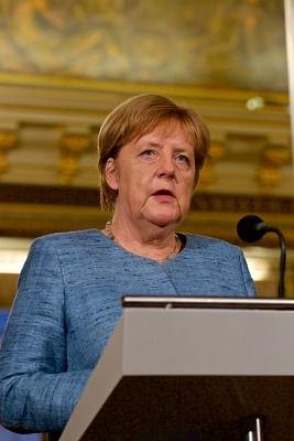 German Chancellor Angela Merkel. (Xinhua/Sylvia Lederer/IANS)