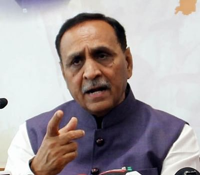 Gujarat Chief Minister Vijay Rupani. (File Photo: IANS)