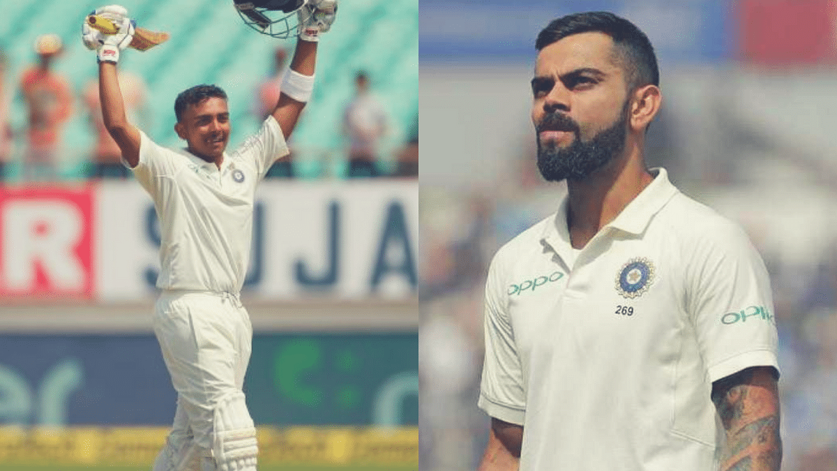 Shaw Should be Left Alone, Any Comparison Unnecessary: Virat Kohli