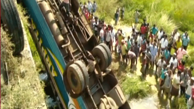 6 Dead After Bus Falls Into Canal in West Bengal's Hooghly