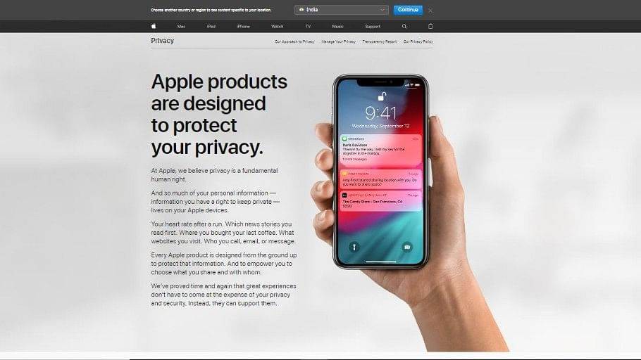 Apple's Website Now Lets Users Know What Data It Has On You