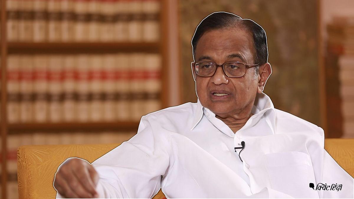 File image of former Finance Minister P Chidambaram.