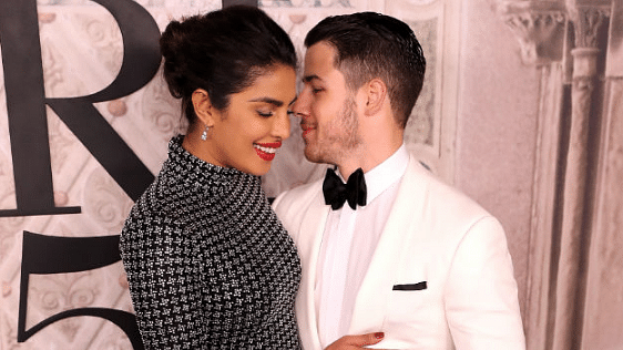 Priyanka Chopra and Nick Jonas reflect the afterglow of their engagement.
