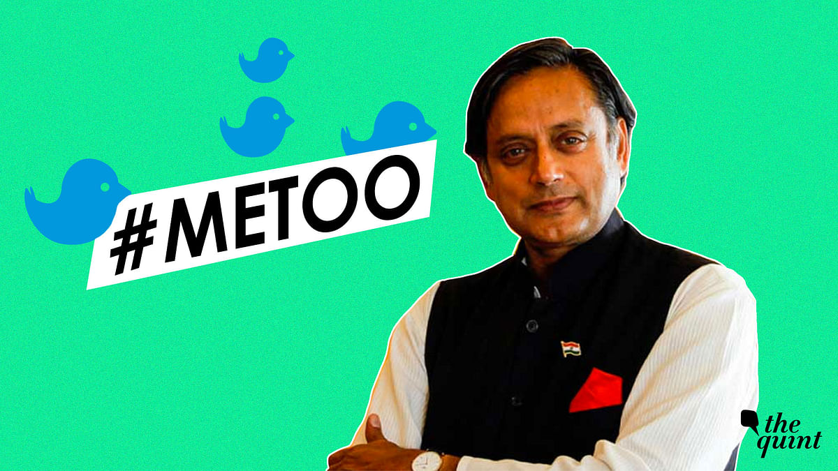 Tharoor on #MeToo, MJ Akbar: We Can't Tolerate Sexual Harassment
