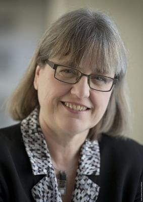 Donna Strickland. (Photo: Twitter/@NobelPrize)