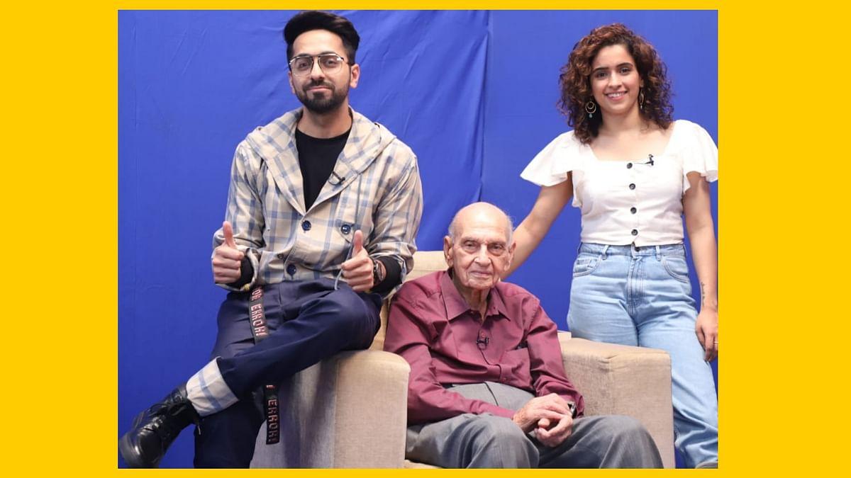 Ayushmann Khurrana & Sanya Malhotra meet sexpert Dr. Mahendra Watsa