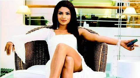 Priyanka Chopra as Sonia Roy in <i>Aitraaz</i>.