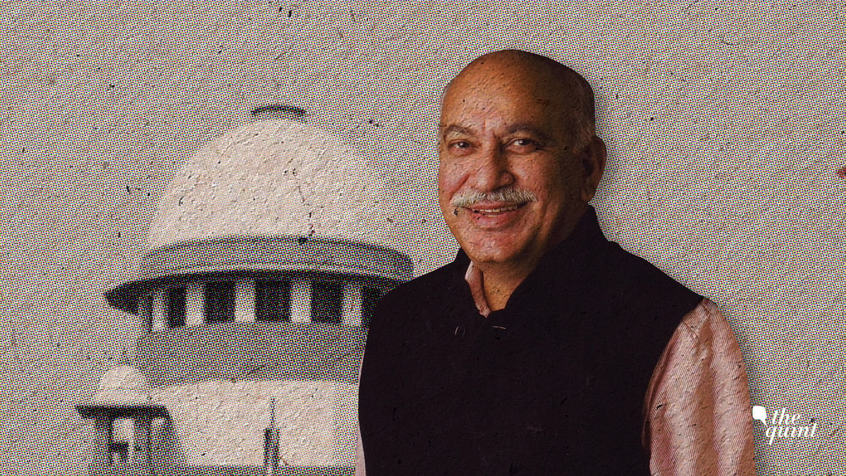 MJ Akbar and the Supreme Court of India.