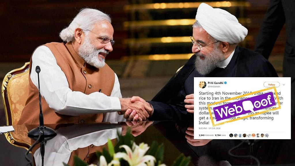 India-Iran Rice-For-Oil Deal Not Modi Magic, It's a UPA-Era Scheme