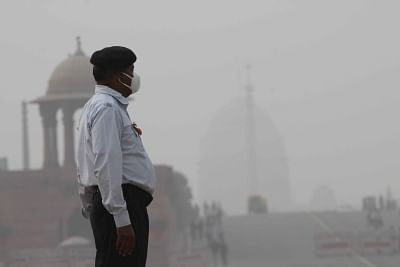 The National Capital faced poor air-quality, while Nehru Nagar in south Delhi choked at
