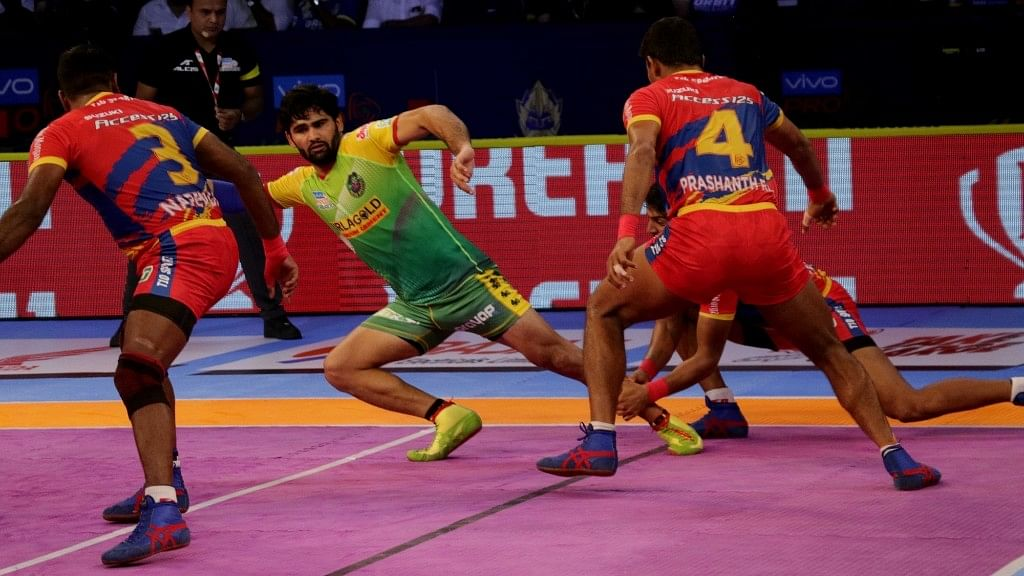 Skipper Pardeep Narwal led from the front, scoring 16 points with Deepak Narwal (seven points) and Jawahar (five points) supporting him well in attack and defence.
