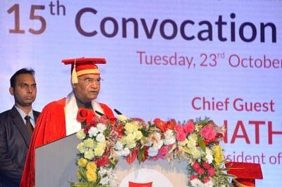 President Kovind rues gaps in quality education
