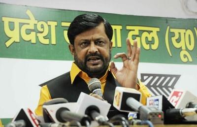 Janata Dal (United) leader Sanjay Singh. (Photo: IANS)