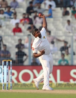 Rangana Herath. (Photo: Surjeet Yadav/IANS)