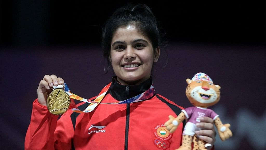 Manu Bhaker Becomes 1st Indian Woman to Win Gold at Youth Olympics