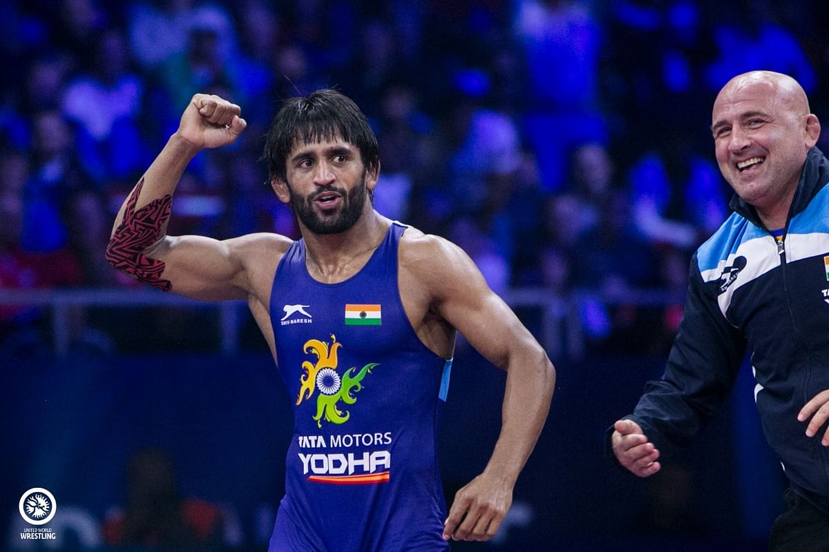 Bajrang Punia is only the fourth Indian ever to make it to the World Championship gold medal match.