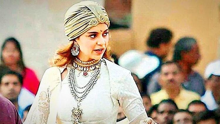 Kangana Ranaut as Manikarnika.