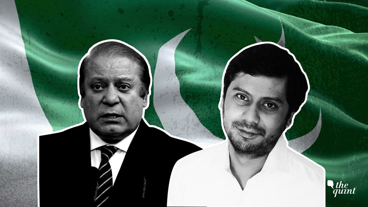 Image of accused former PM Nawaz Sharif (L) and 'Dawn' journalist Cyril Almeida (R) used for representational purposes.