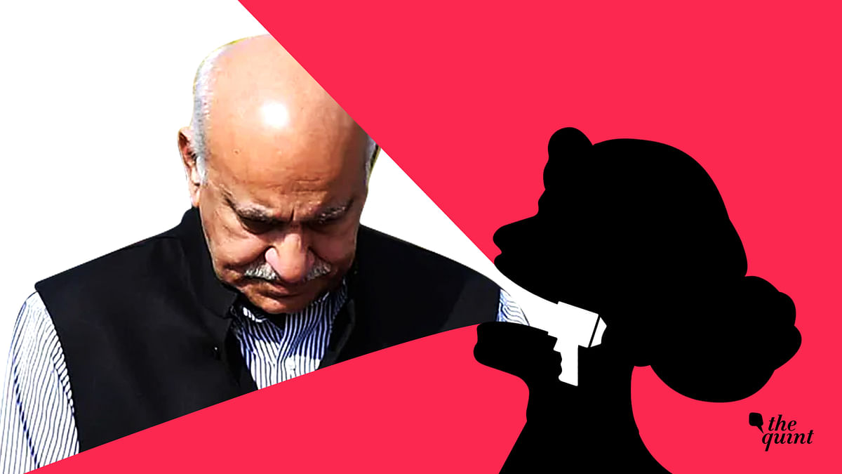 """<div class=""""paragraphs""""><p>At least 12 women journalists have accused Akbar of sexually harassing them.</p></div>"""