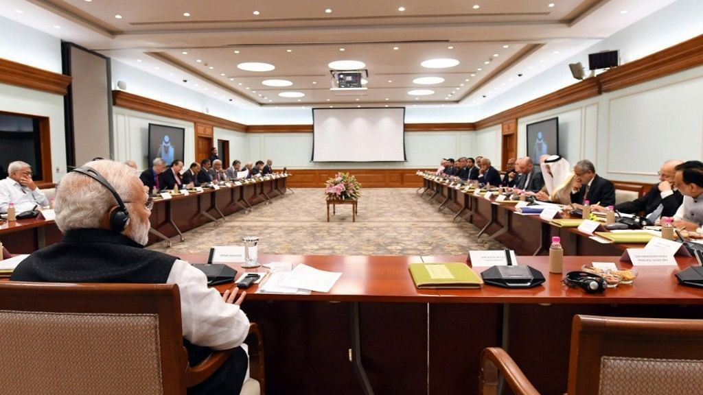 PM  Seeks Reasonable Fuel Rates From Global Oil CEOs to Help Rupee