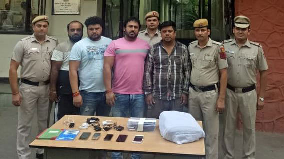 The Delhi Police arrested four bookies during the Asia Cup final between India and Bangladesh on 28 September.