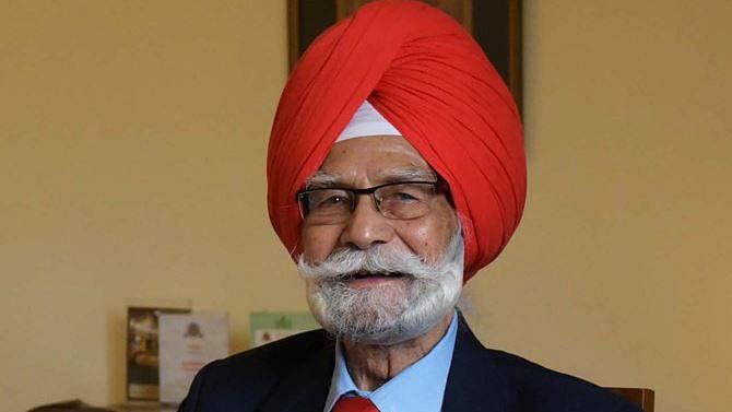 Hockey legend and triple Olympic gold medallist Balbir Singh Sr. on Tuesday suffered a cardiac arrest.