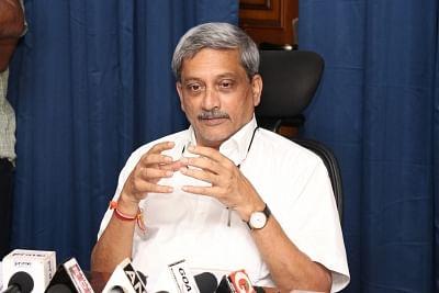 Goa Chief Minister Manohar Parrikar. (File Photo: IANS)