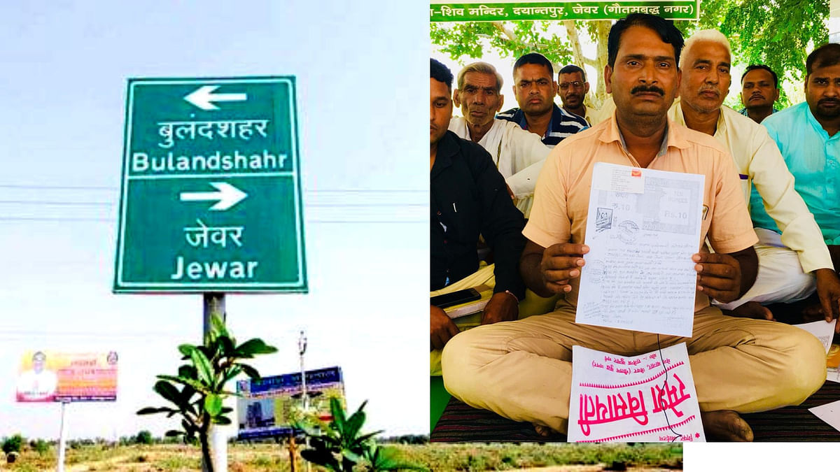 """Promod Kumar is one of the farmers who has withdrawn consent after """"getting to know the government wrongly got him to sign on a document that only gave him half the compensation he wanted""""."""