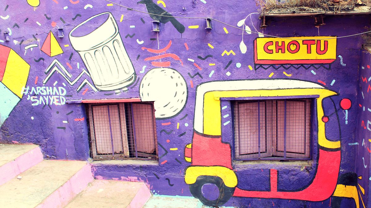 In Pics: From Chapel Road to Asalpha Slum, Mumbai Gets a Makeover