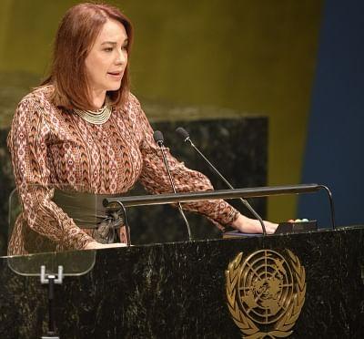 United Nations: United Nations General Assembly President Maria Fernanda Espinosa. (Photo: UN/IANS)