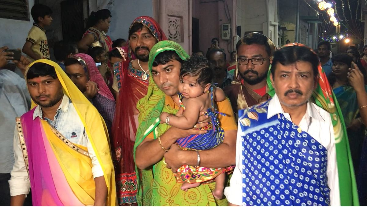 These Men Do Garba in Women's Garb to Ward Off 200-Year-Old Curse