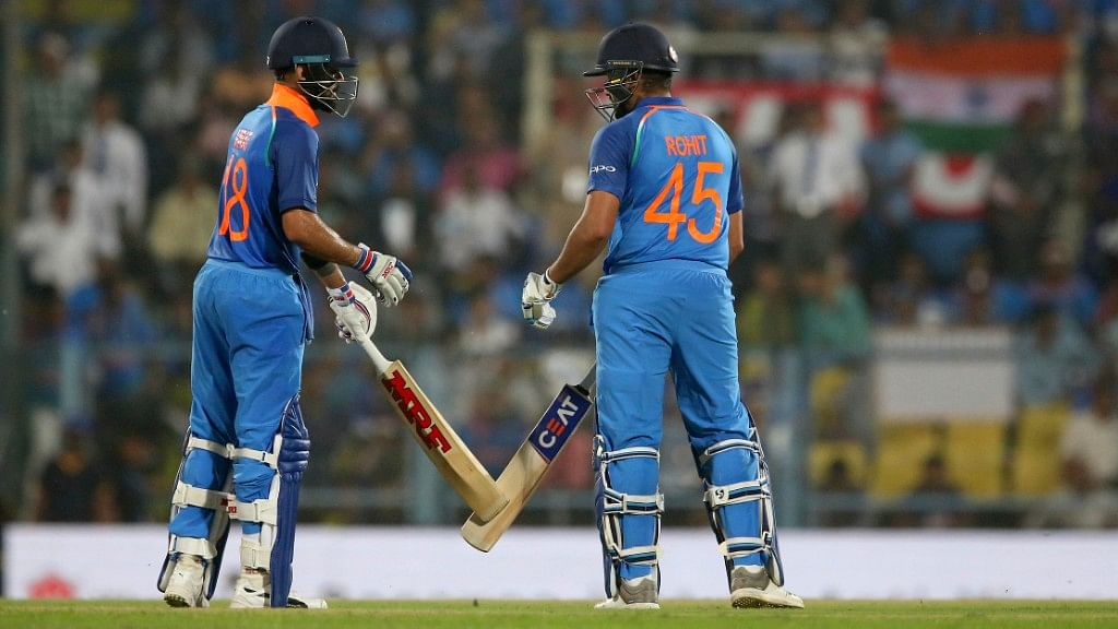 It is Easy to Chase When Rohit is Going Great Guns: Virat Kohli